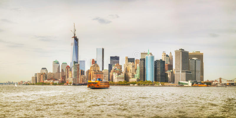 Download New York City Cityscape Panorama Stock Image - Image: 33013315