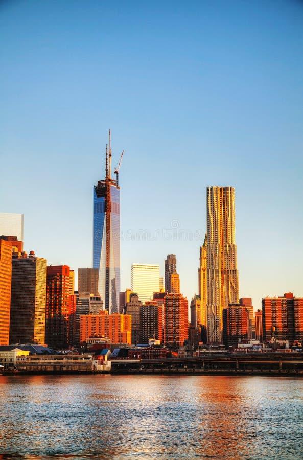 Download New York City cityscape stock photo. Image of metropolis - 33013466