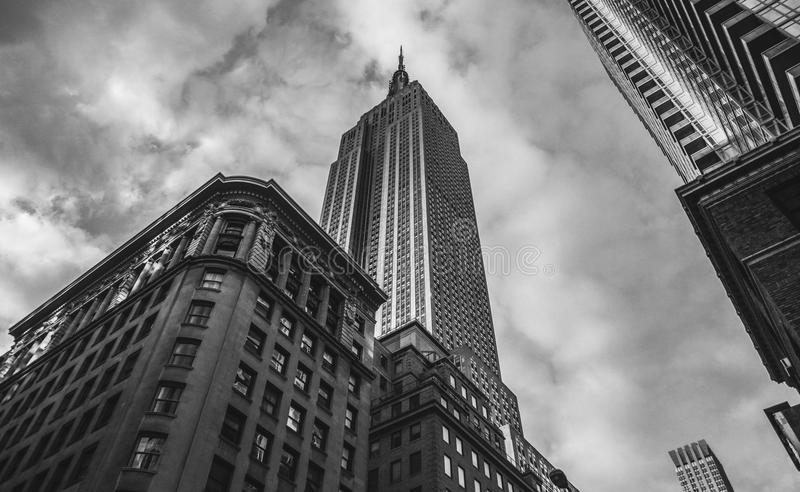 New York City - das Empire State Building lizenzfreies stockfoto