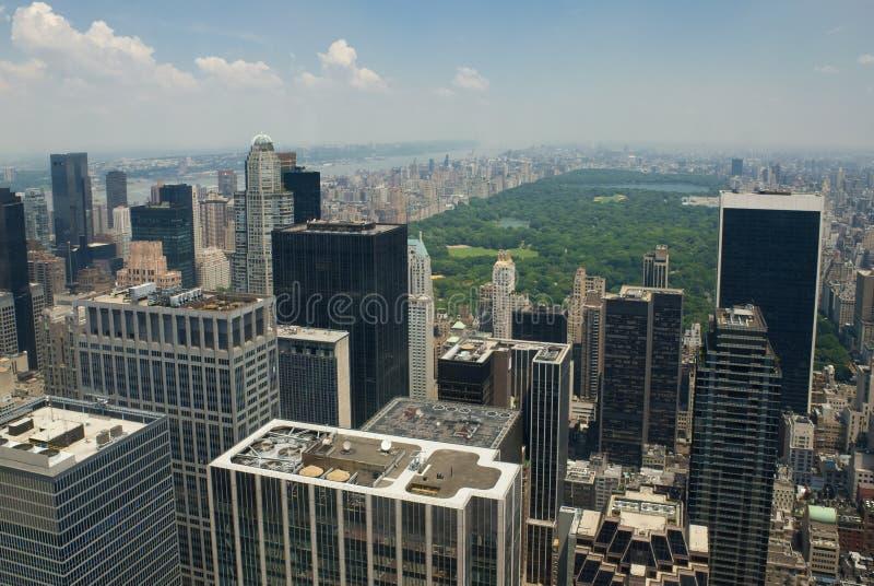 New York City e Central Park fotografia de stock royalty free