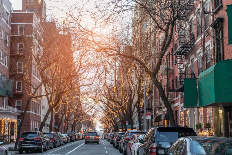 New York City el día de la Navidad fotografía de archivo libre de regalías