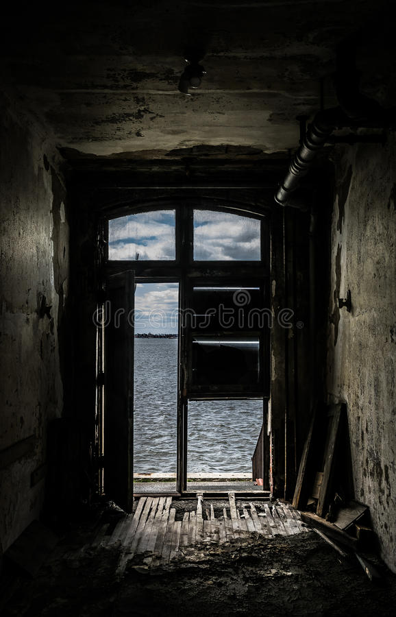 New York City Ellis Island Immigrants Desperation imagem de stock royalty free