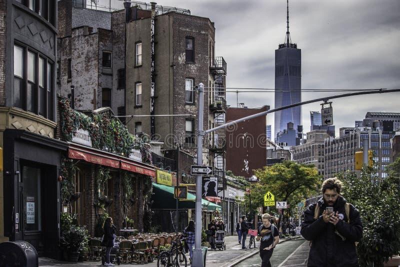New York City en otoño imagen de archivo
