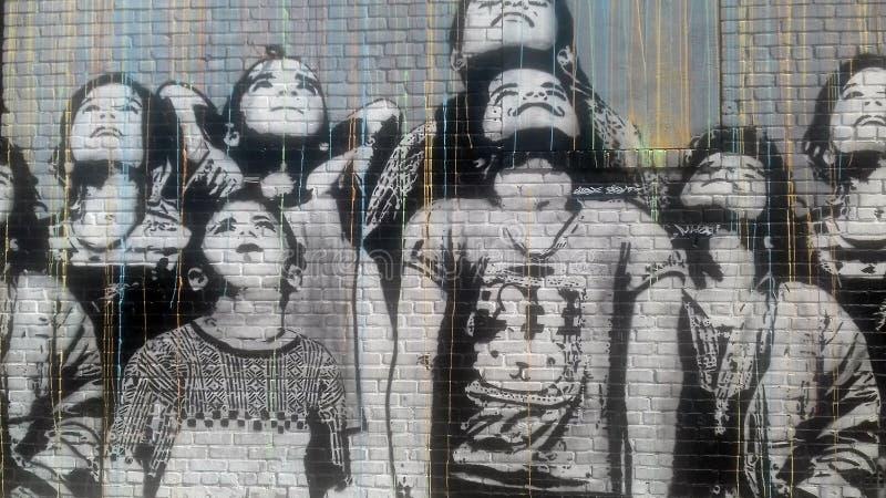 New York City essentiellement : art incomparable de rue images stock