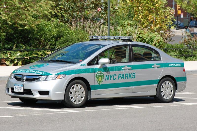 New York City Estaciona O Carro De Pelotão Imagem de Stock Editorial