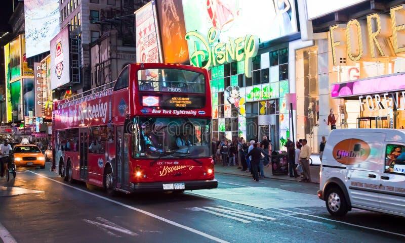 NEW YORK CITY, EUA - Times Square foto de stock royalty free