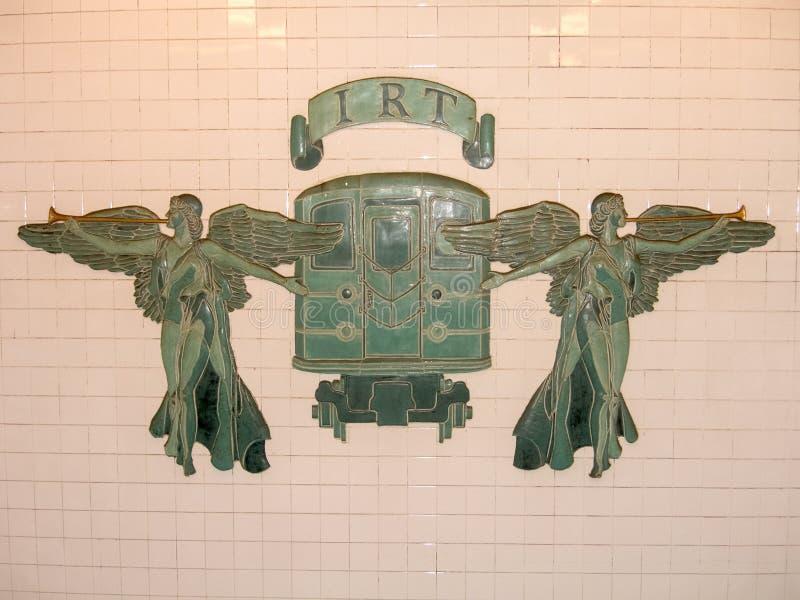 IRT New York City Subway stock photography