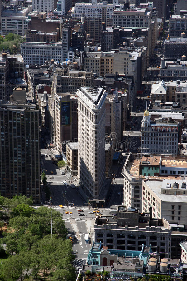 Download New York City Flatiron Building In Manhattan Editorial Stock Image - Image: 18169439