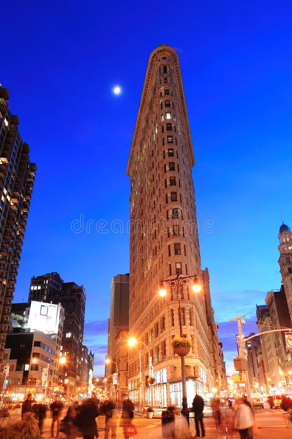 New York City Flatiron byggnad royaltyfri foto