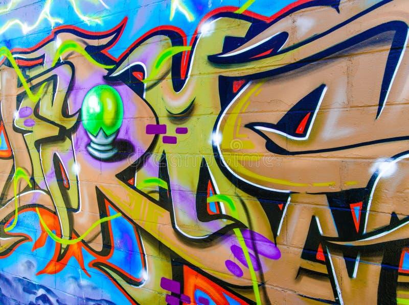 New York City grafitti royaltyfri illustrationer