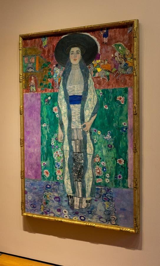 New York City Gustav Klimt arkivfoto