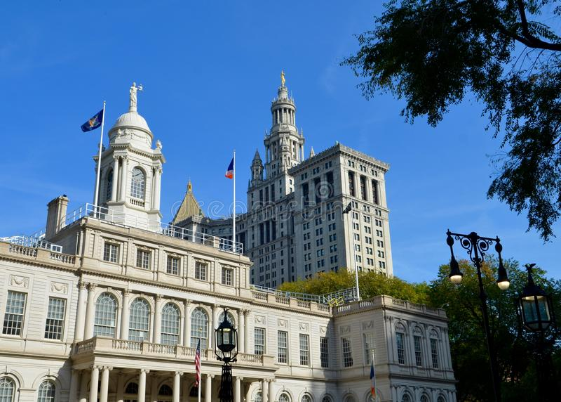 New York City Hall, NYC, Etats-Unis images stock