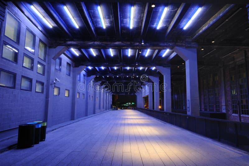 New York City Highline fotografia stock libera da diritti