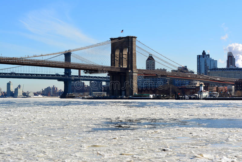 Download New York City editorial stock image. Image of lower, frozen - 37023954