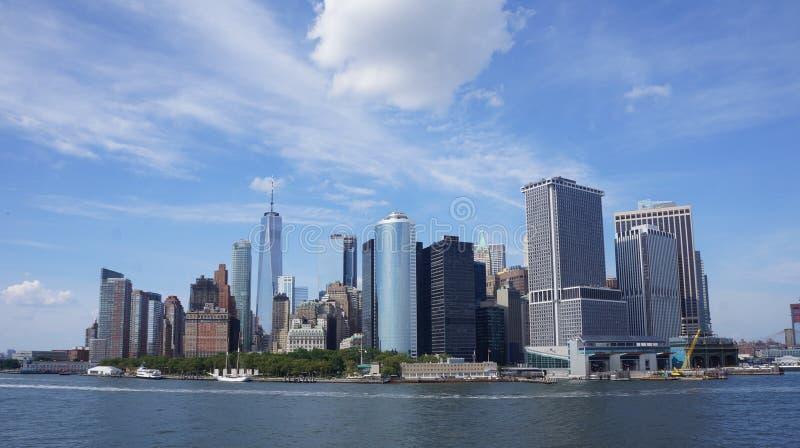 New York City kustfoto royaltyfria bilder