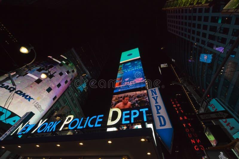 NEW YORK CITY - La police de New York City signe image stock