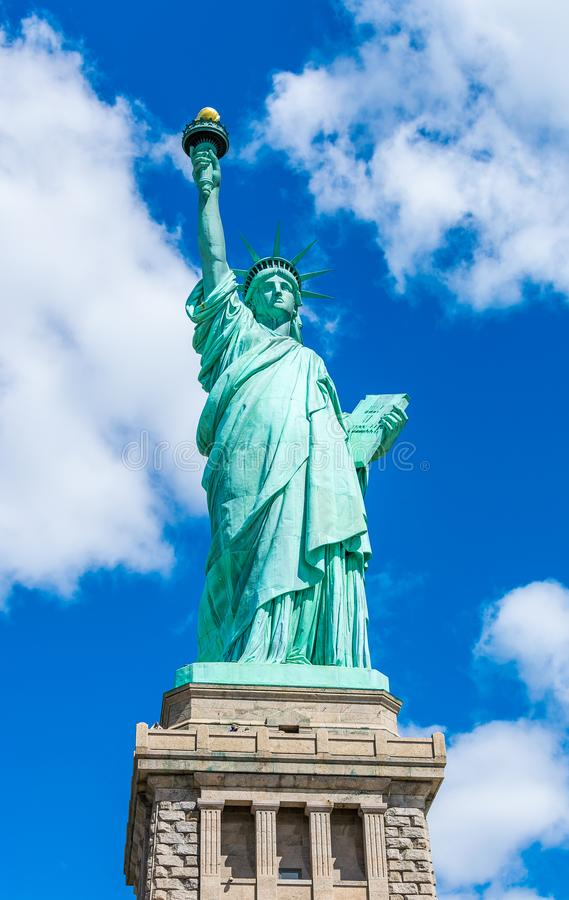 New York City Lady Liberty The Statue of Liberty stock image