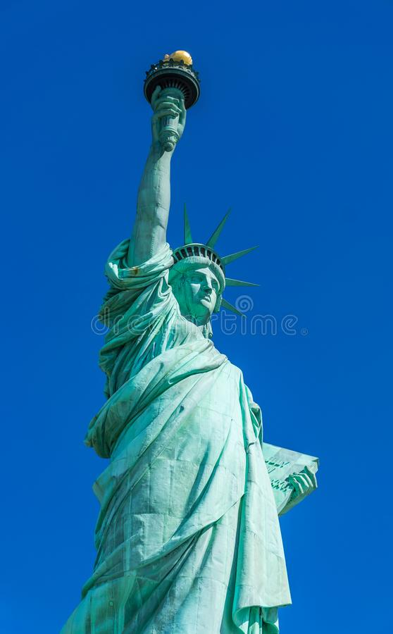 New York City Lady Liberty The Statue of Liberty royalty free stock image