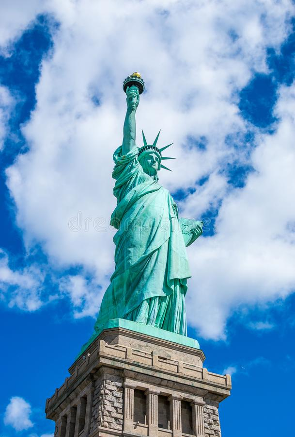 New York City Lady Liberty The Statue of Liberty stock photo