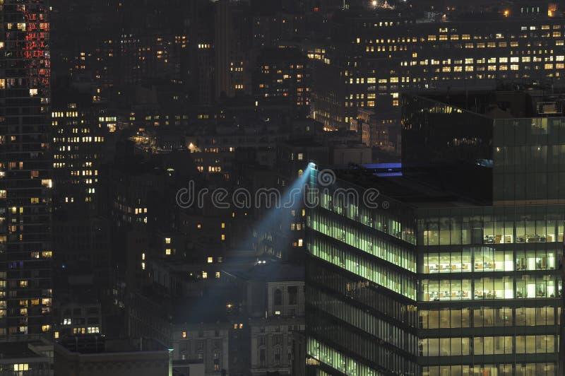 Download New York City lights stock photo. Image of office, manhattan - 17255326