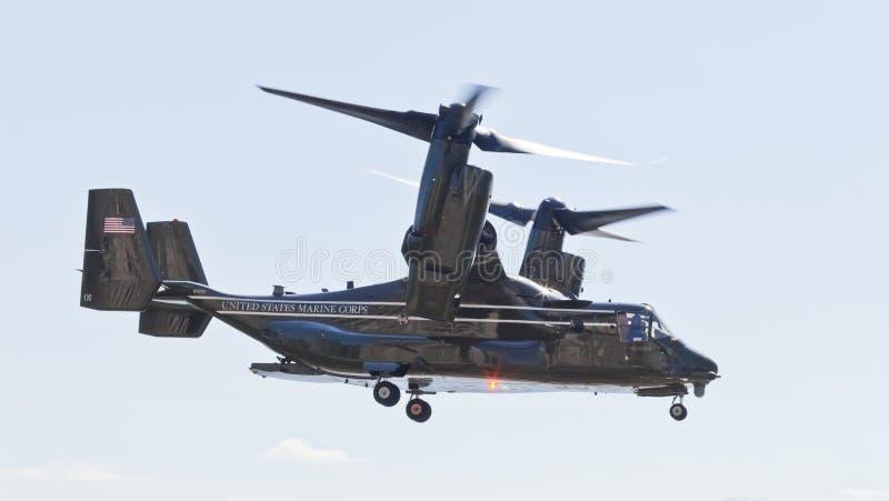 New York City, los E.E.U.U. MV-22 Osprey imagen de archivo libre de regalías
