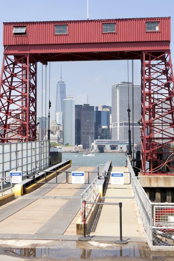 New York City - Lower Manhattan (2014) lizenzfreie stockbilder