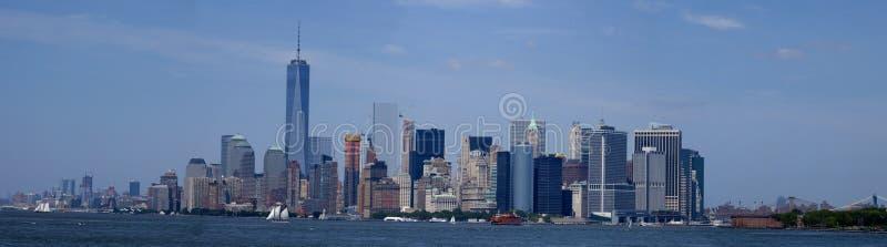 New York City - Lower Manhattan (2015) lizenzfreie stockfotos