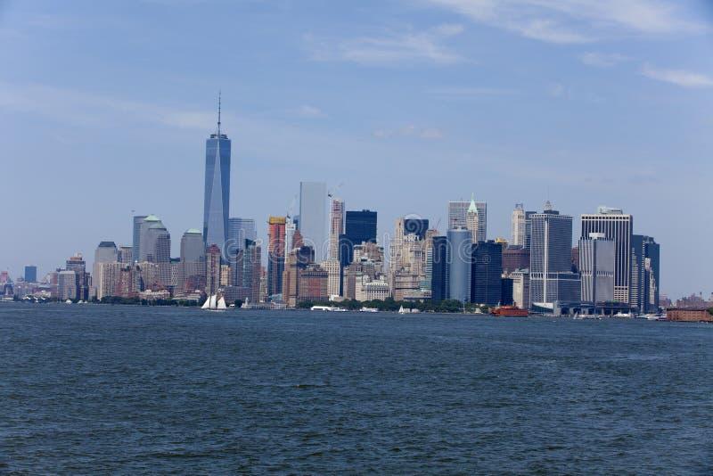 New York City - Lower Manhattan (2015) stockfoto