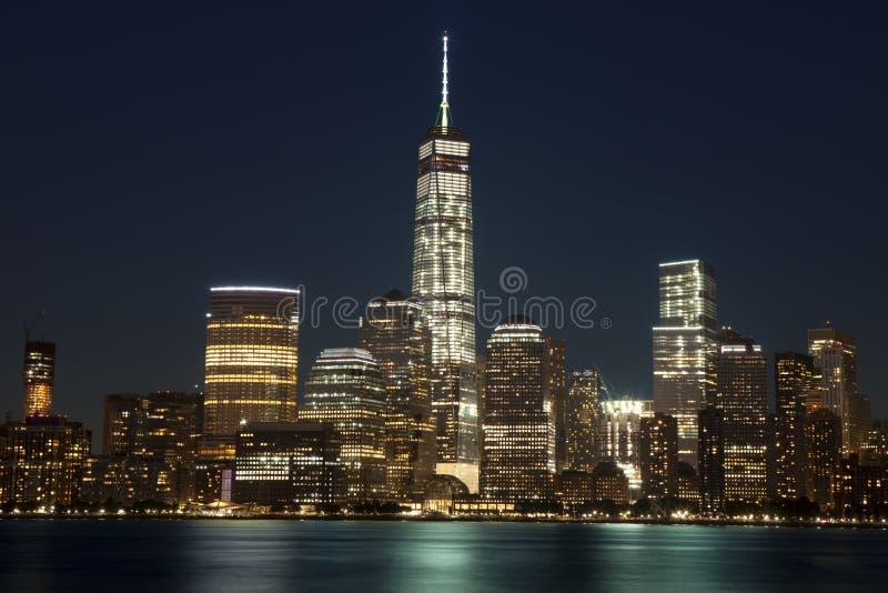 New York City - Lower Manhattan (2015) fotografering för bildbyråer