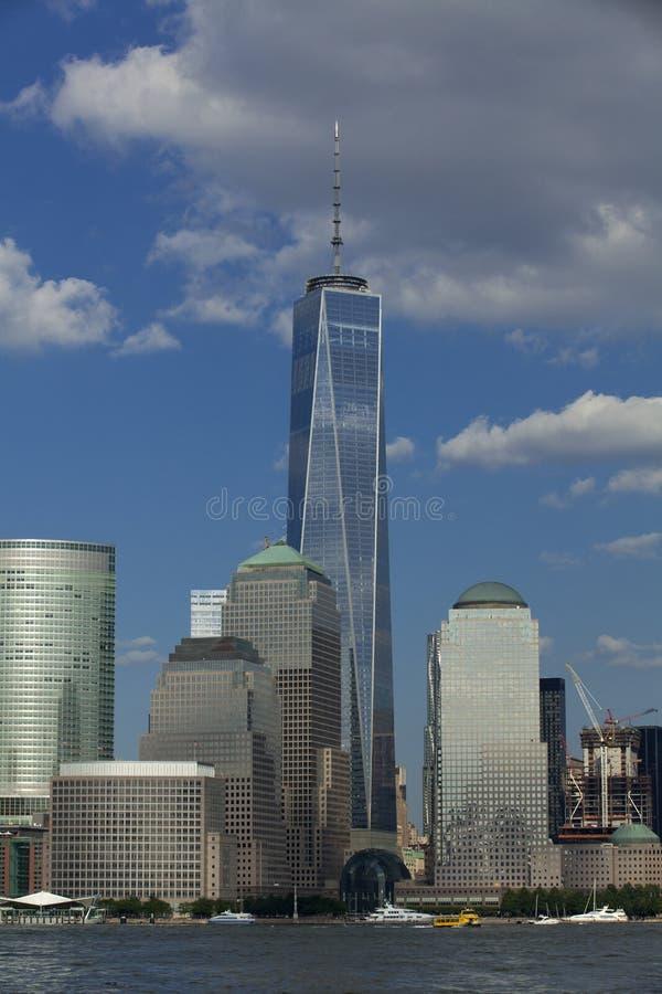 New York City - Lower Manhattan (2015) stockbild