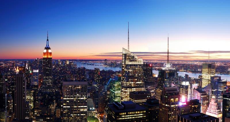 New York City Manhattan stockfotos