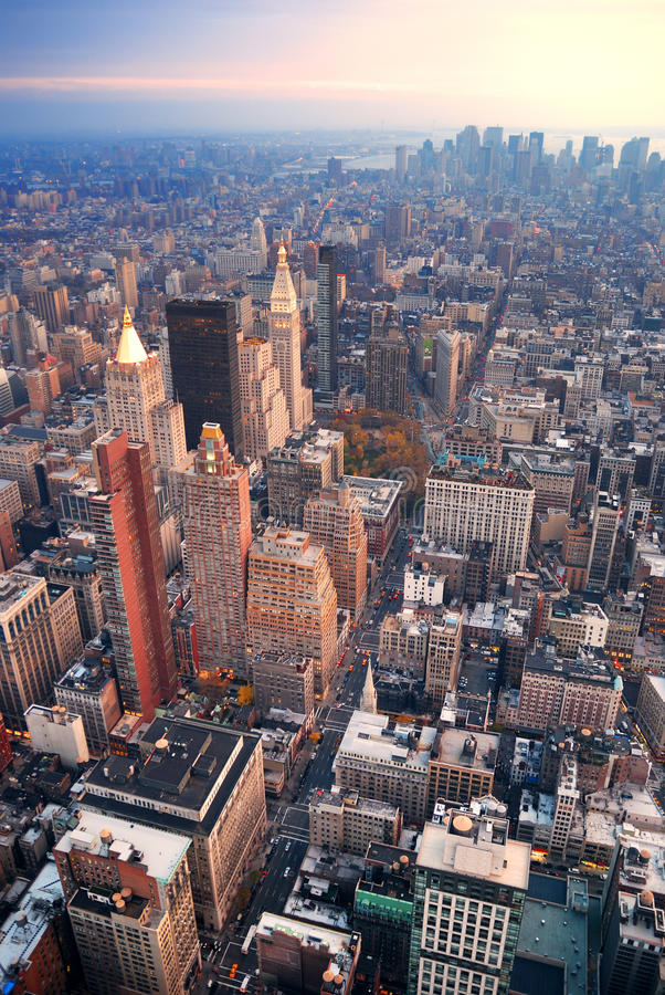 New York City Manhattan foto de archivo libre de regalías