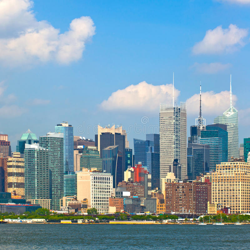 Download New York City, Manhattan Buildings Stock Image - Image: 36624487