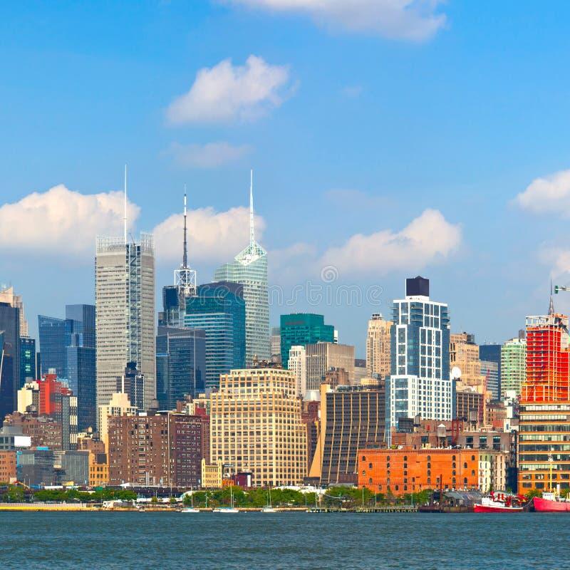 New York City, Manhattan Buildings Royalty Free Stock Photo