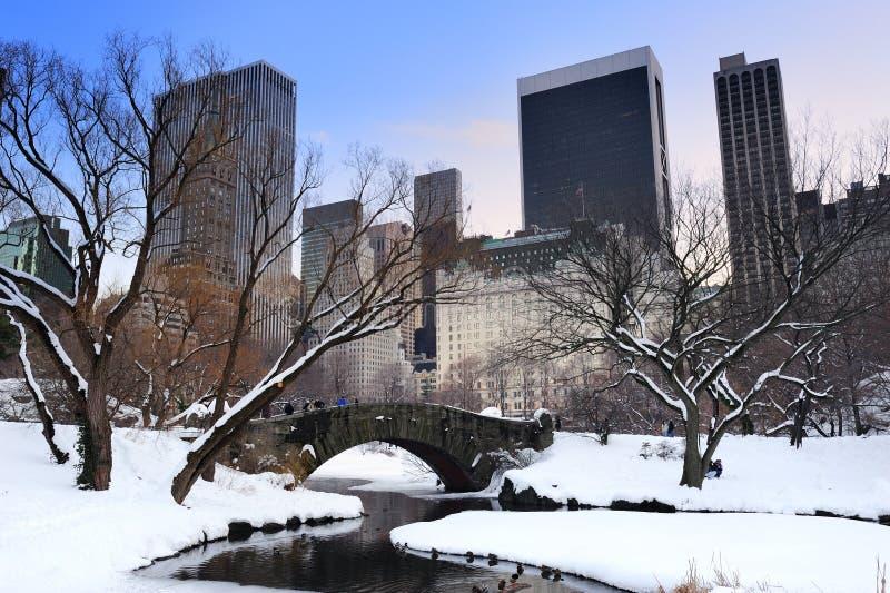 New York City Manhattan Central Park photos libres de droits