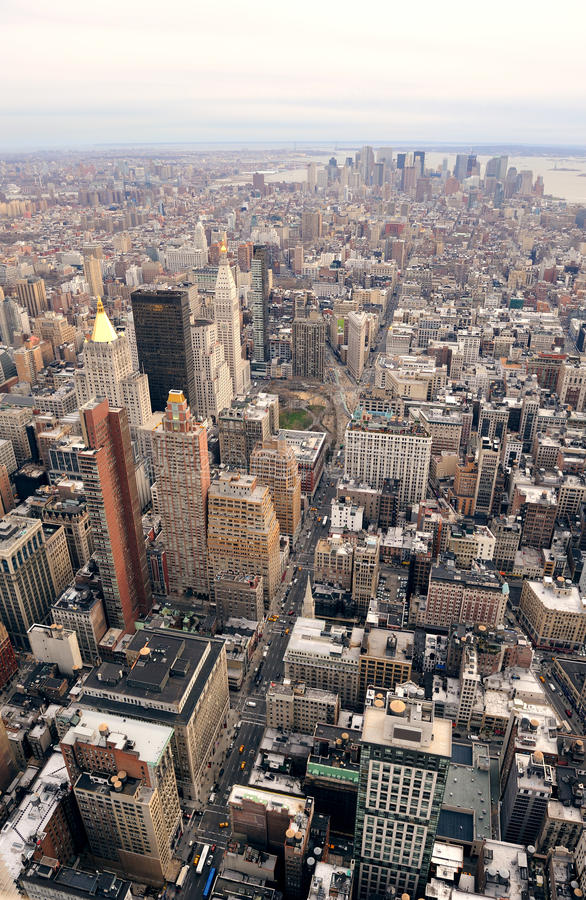 Download New York City Manhattan Downtown Skyline Stock Image - Image: 19215983