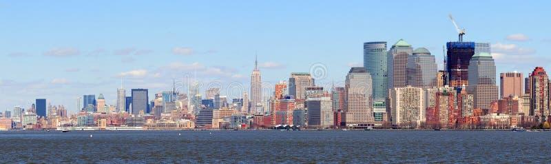 Download New York City Manhattan Downtown Skyline Panorama Stock Photo - Image: 19328330