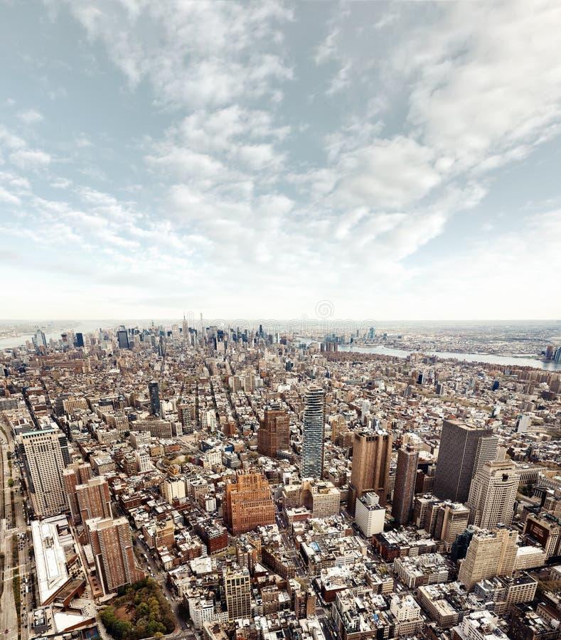 New York City Manhattan midtown view royalty free stock photos