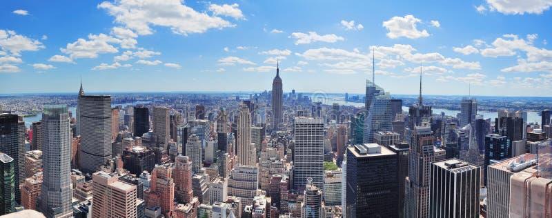 New York City Manhattan panorama stock photo