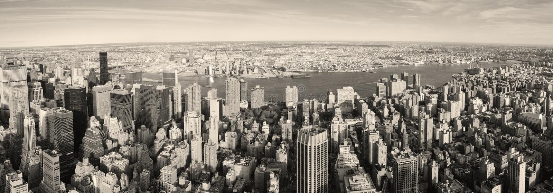 Download New York City Manhattan Panorama Aerial View Stock Photo - Image: 16311952