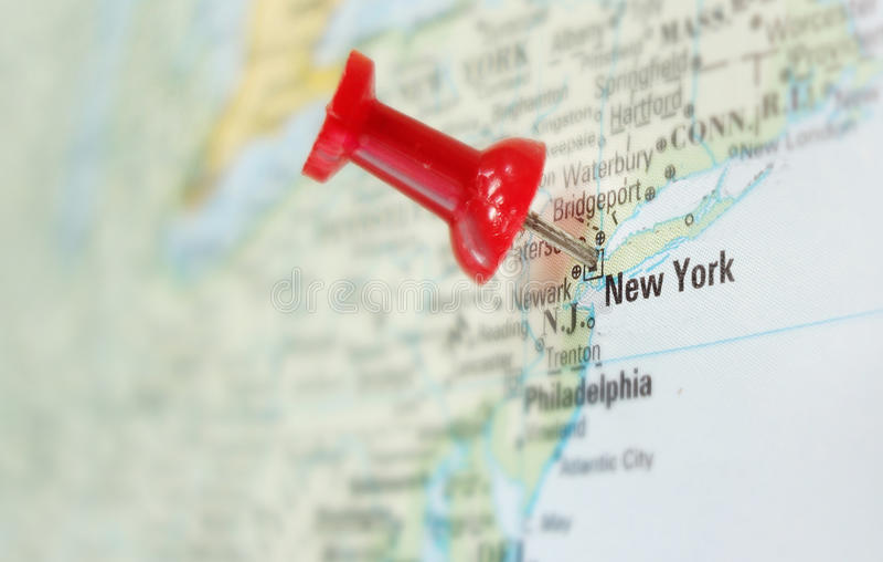 New York city map royalty free stock photo