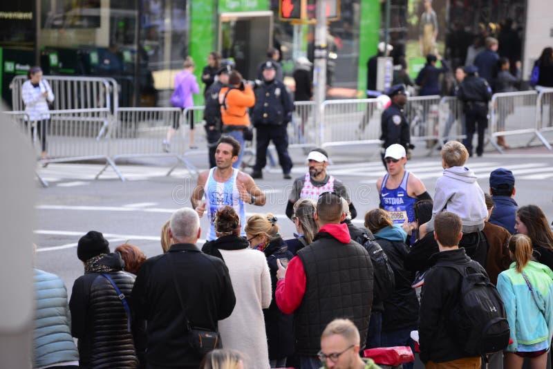 New-York-City-Marathon 2016 lizenzfreie stockbilder
