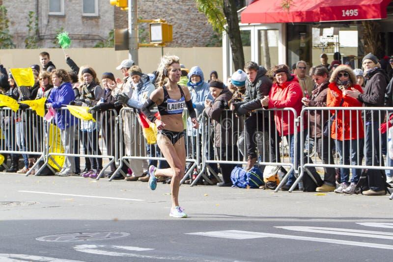 New York City Marathon 2014 royalty free stock photo