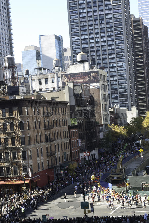 2013 NYC Marathon Editorial Photo. Image Of Security