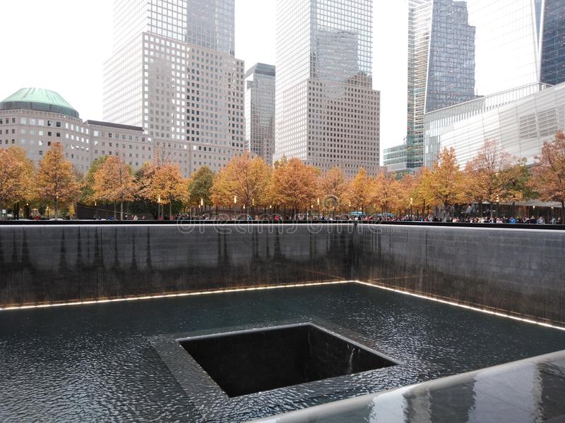 New York City, 9/11 Memorial North Pool, September 11th 2001 Tribute, NYC, NY, USA stock images