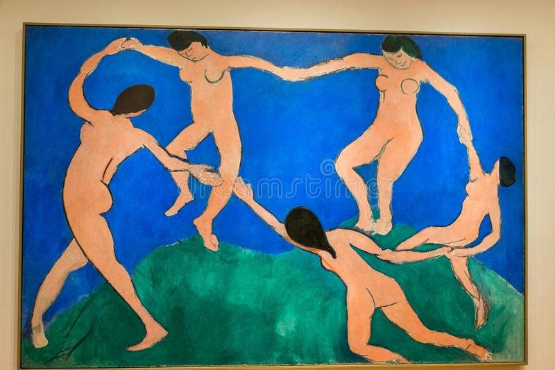 New York City MOMA - Henri Matisse - The Dance stock photos