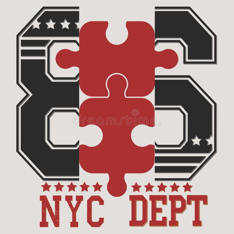New york city royalty free illustration