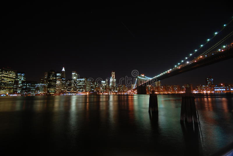 Download New York City by night stock image. Image of city, scenic - 18480459