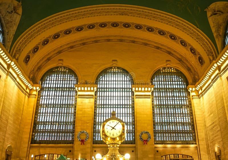 New York City, NY Etats-Unis : Le 1er d?cembre 2018 - Grand Central Station photographie stock