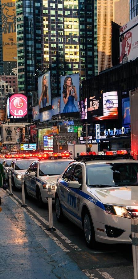 New York City NYPD fotos de archivo libres de regalías